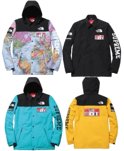 2014SS Supreme x The North Face