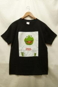 Supreme × Kermit the frog シュプリーム × カーミット ザ フロッグ 08SS カーミット Box Logo Tee ボックスロゴ 半袖 プリント Tシャツ 黒