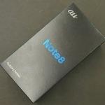 世田谷 au SAMSUNG Galaxy Note8 SCV37 を買取致しました! ドラマ下北沢総合買取店