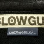 下北沢 古着 買取  SLOWGUN × LOOPWHEELER スロウガン × ループウィラー 09AW B-3 スウェットライダースジャケット 日本製 黒 買取致しました!-DOSTYLE下北沢店