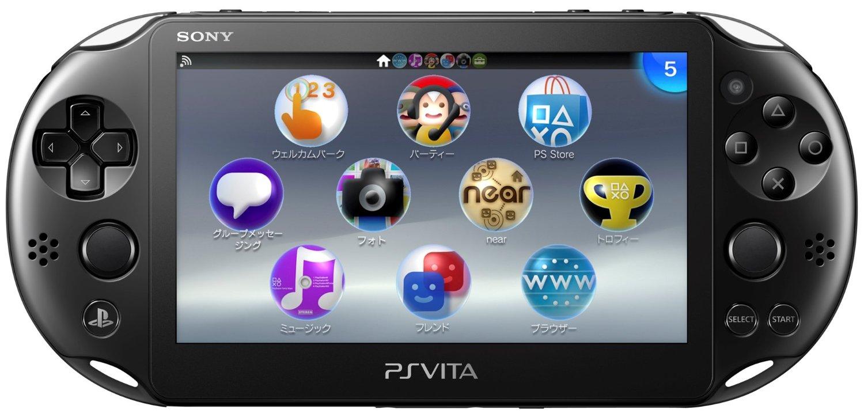 ゲーム 買取 相模原 PlayStation Vita Wi-Fiモデル ブラック (PCH-2000ZA11)    買取 しました! 二本松 店